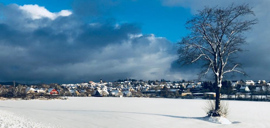 Panoramablick auf die Stadt Vohenstrauß